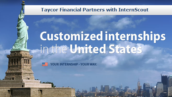 InternScout Partners with Taycor Financial to Create International Business Exchange Program