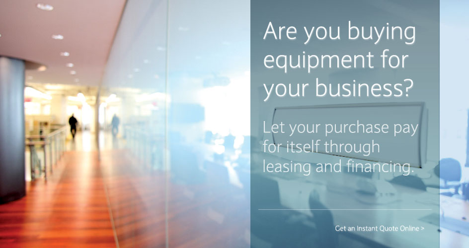 Equipment Leasing & Equipment Financing For Your Business | Taycor